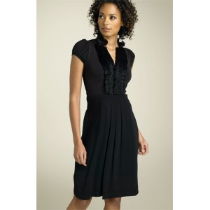 """Ruffled Tuxedo"" Dress"