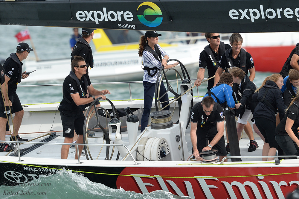 Auckland Harbour: America's Cup Boat Race