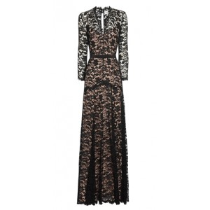"""Amoret"" Lace Evening Gown"