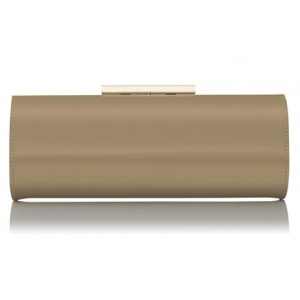 """Avona"" Oval Roll Clutch"