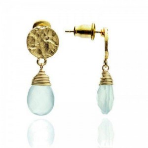 """Athena"" Small Drop Earrings"