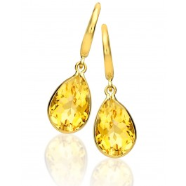 Citrine Pear Drops