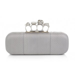 Pink Customized Knuckle-Duster Clutch