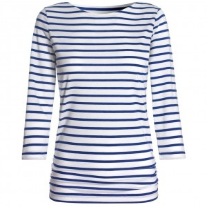 """Breton"" Fitted Top"
