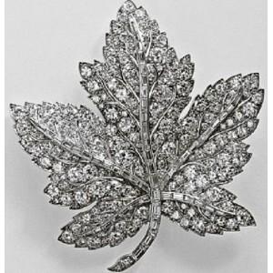 Diamond Canadian Maple Leaf
