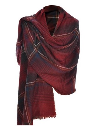 Tartan Really Wild Clothing Shawl