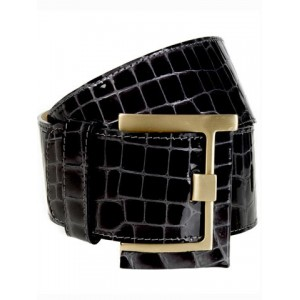 """Betony"" Embossed Belt"