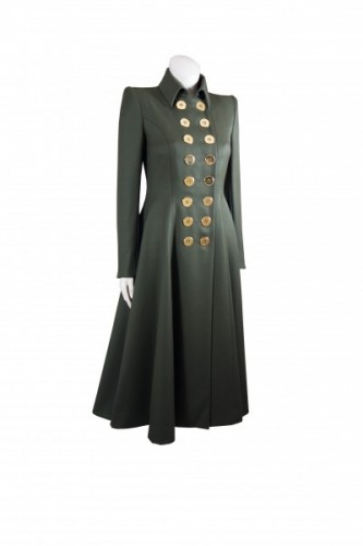 """Russian Greatcoat"" in Red"