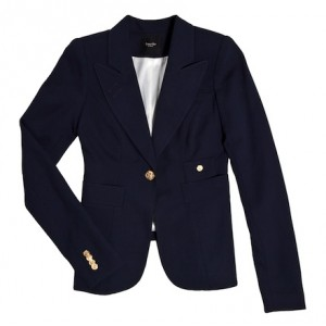 "One-Button ""Duchess"" Blazer"