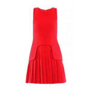Bespoke Pleated Red McQueen