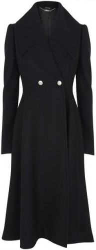 """Flared"" Wool Remembrance Day Coat"