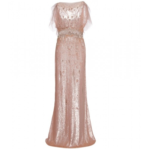 Pearlescent Blush Gown