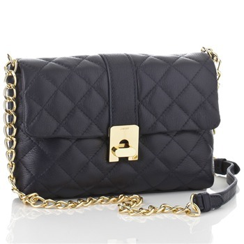"""Kate"" Quilted Leather Clutch"