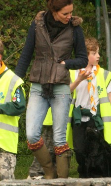 Kate & Lupo Out With the Scouts