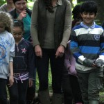 Kate Visits Camping Scouts