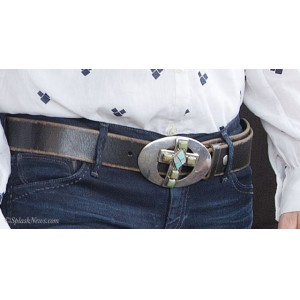 Turquoise Cross Belt