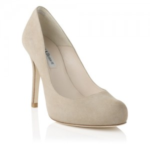 """Harper"" Suede Pumps"