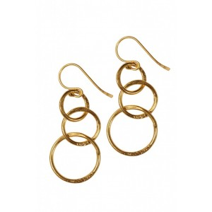 """Lolita"" Hoop Earrings"