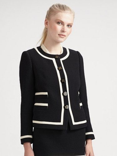 """Gabrielle"" Button Jacket"