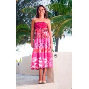 TAV Batik Printed Island Dress
