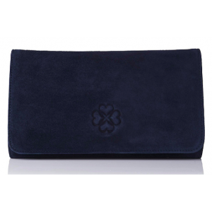 """Frome"" Navy Clutch"