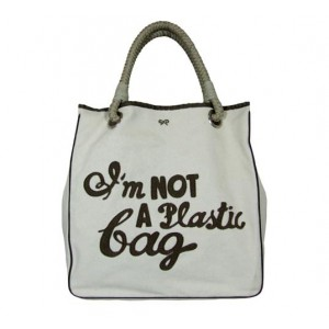 """I'm Not A Plastic Bag"" Tote"