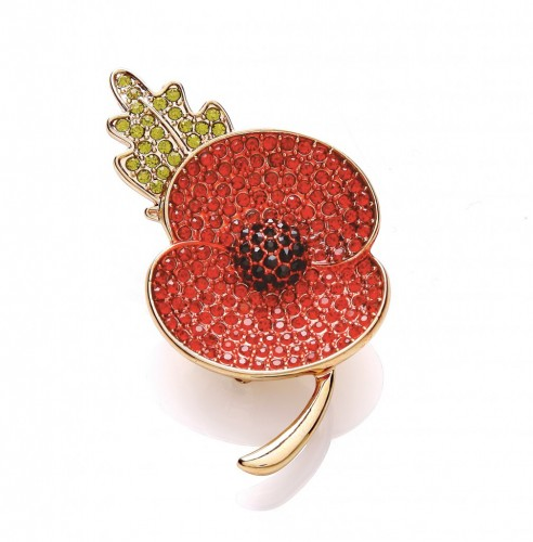 Buckley Poppy Pin 2013
