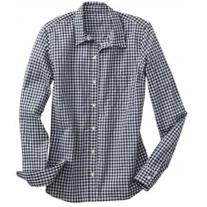 Fitted Boyfriend Gingham Shirt