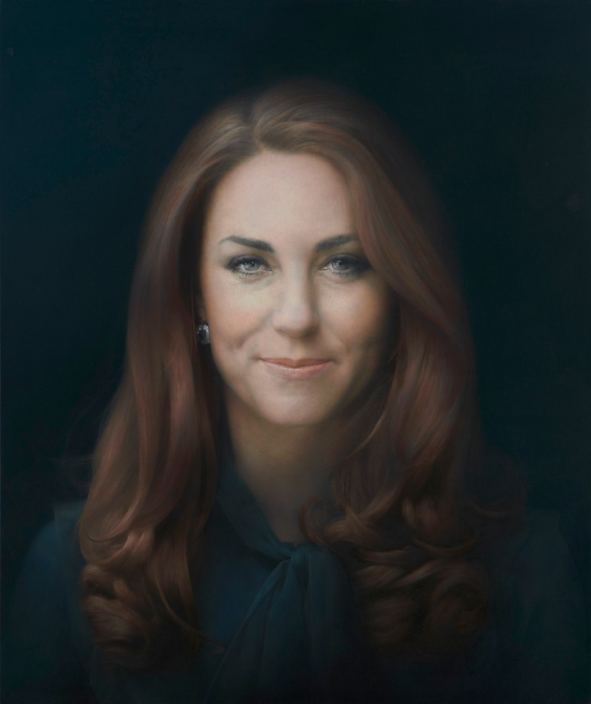 First Official Portrait by Paul Emsley