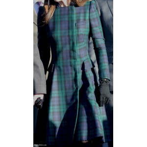 Black Watch Tartan Coat