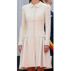 Cream Coat Dress