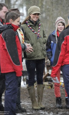 Snowy Day With Scouts