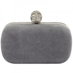 Modified Sand Suede Clutch