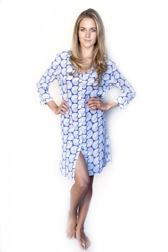 Shell Shirtdress Cover-Up