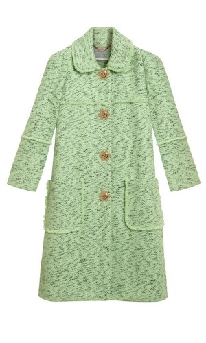 """""""Frayed"""" Mint Green Mulberry"""