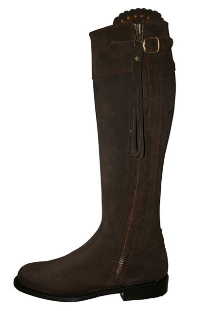 Kate S Clothes 187 Seville Suede Riding Boots