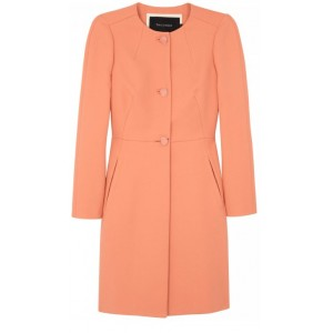 Apricot Cotton Twill Coat
