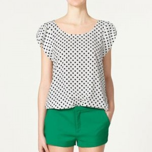 Polka Dot Top