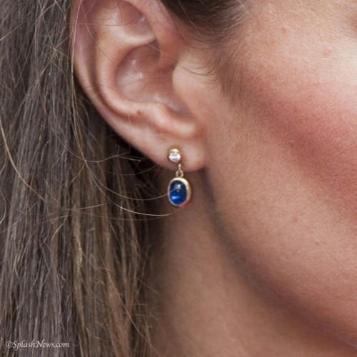 Cabochon by the Yard Earrings