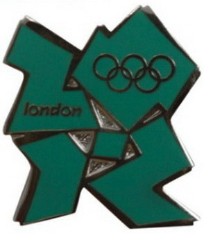 London 2012 Olympic Pin