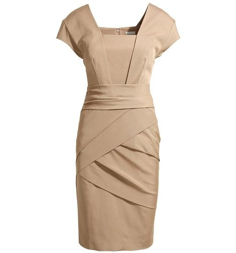 """Shola"" Nude Bandage Dress"