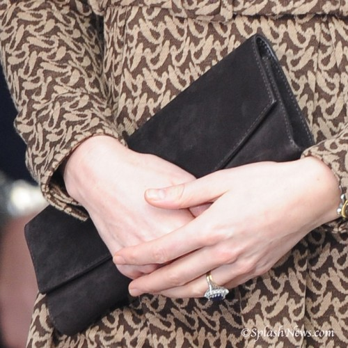 """Muse"" Clutch in Chocolate"