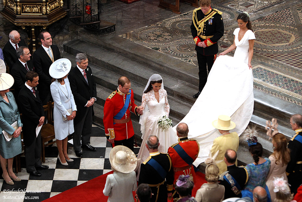 The Royal Wedding of Prince William at Westminster Abbey.