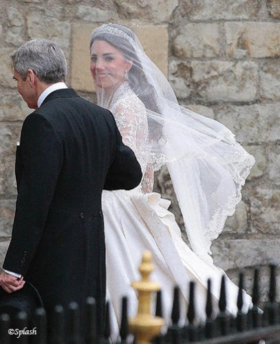 Royal Wedding Veil