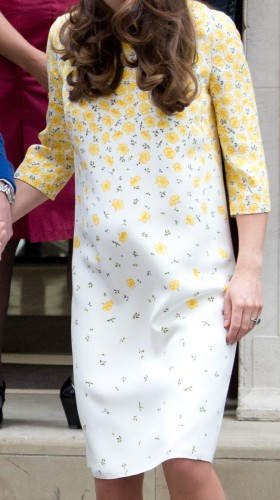Bespoke Yellow Lindo Wing Dress