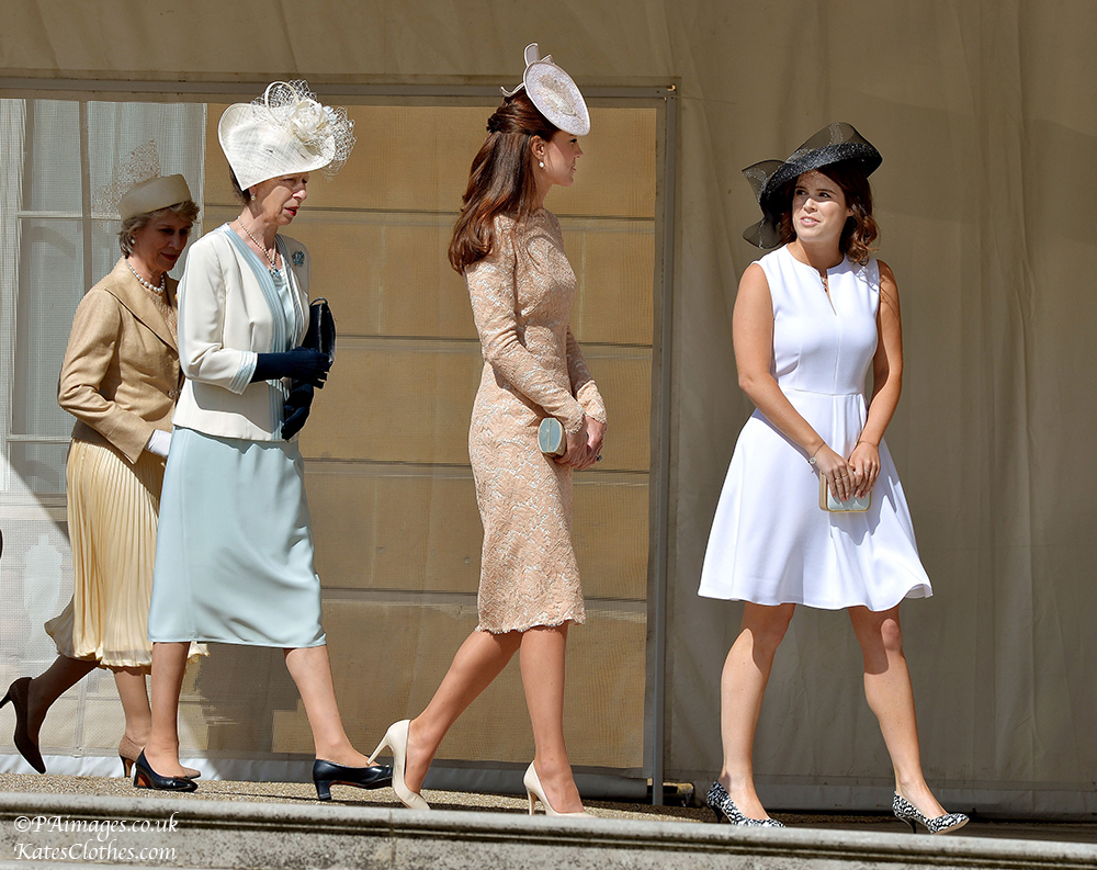 Kate 39 S Clothes The Queen S Garden Parties