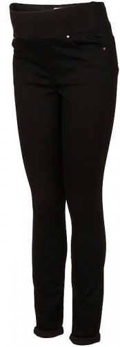 Moto Leigh Maternity Jeans (Black)