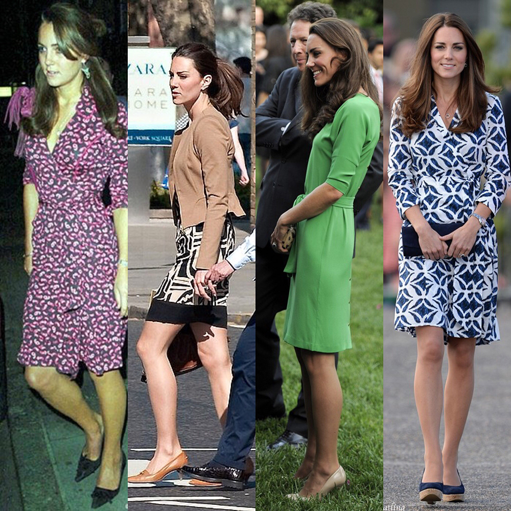 Kate middleton kates clothes dvf dresses