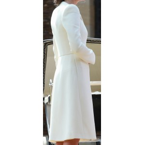Custom Christening Coatdress