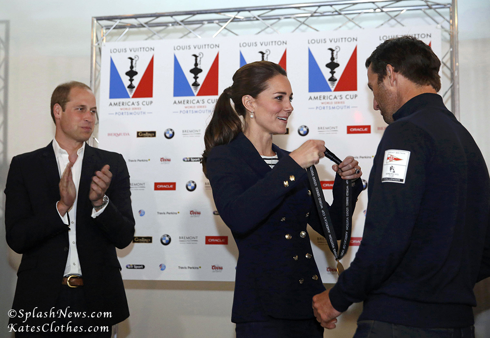 America's Cup World Series: Medal Ceremony